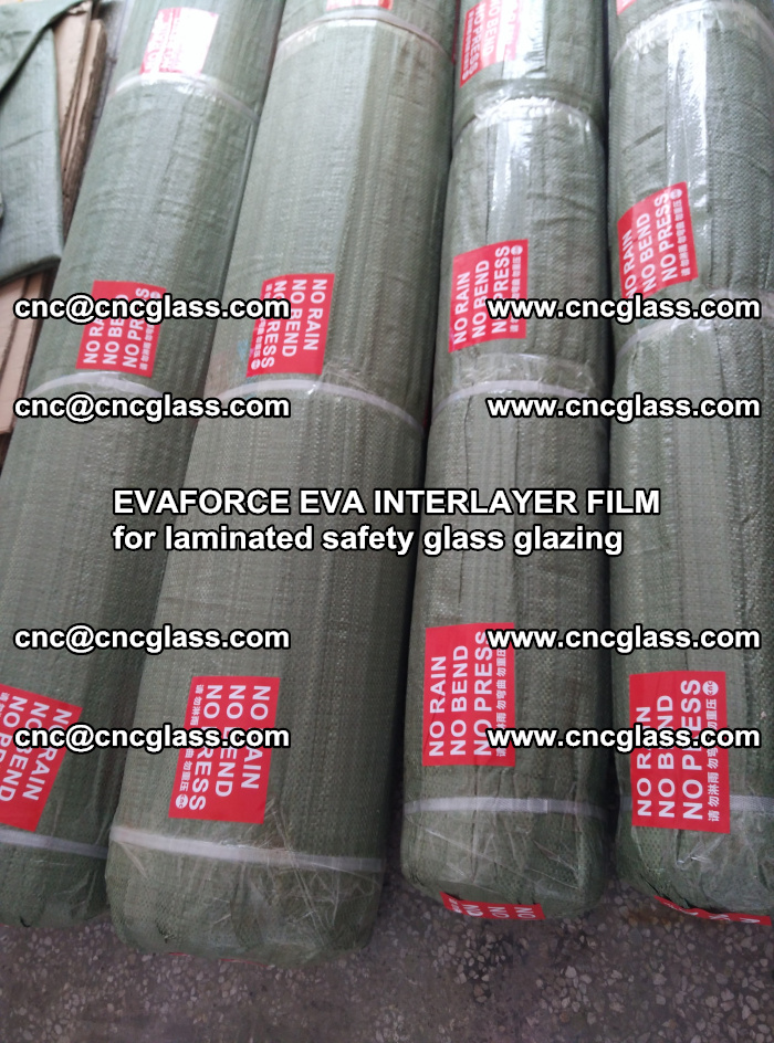 EVAFORCE EVA INTERLAYER FILM for laminated safety glass glazing (10)