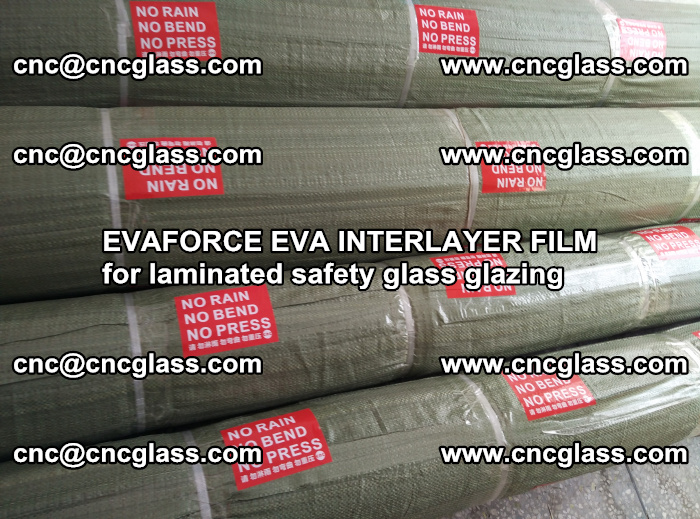 EVAFORCE EVA INTERLAYER FILM for laminated safety glass glazing (20)