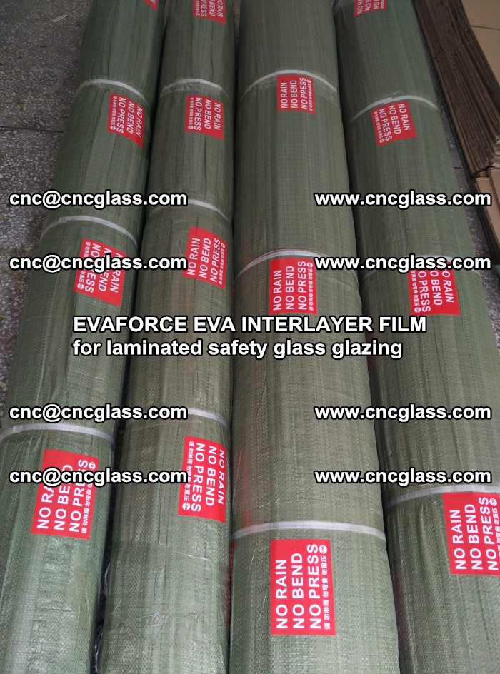 EVAFORCE EVA INTERLAYER FILM for laminated safety glass glazing (25)