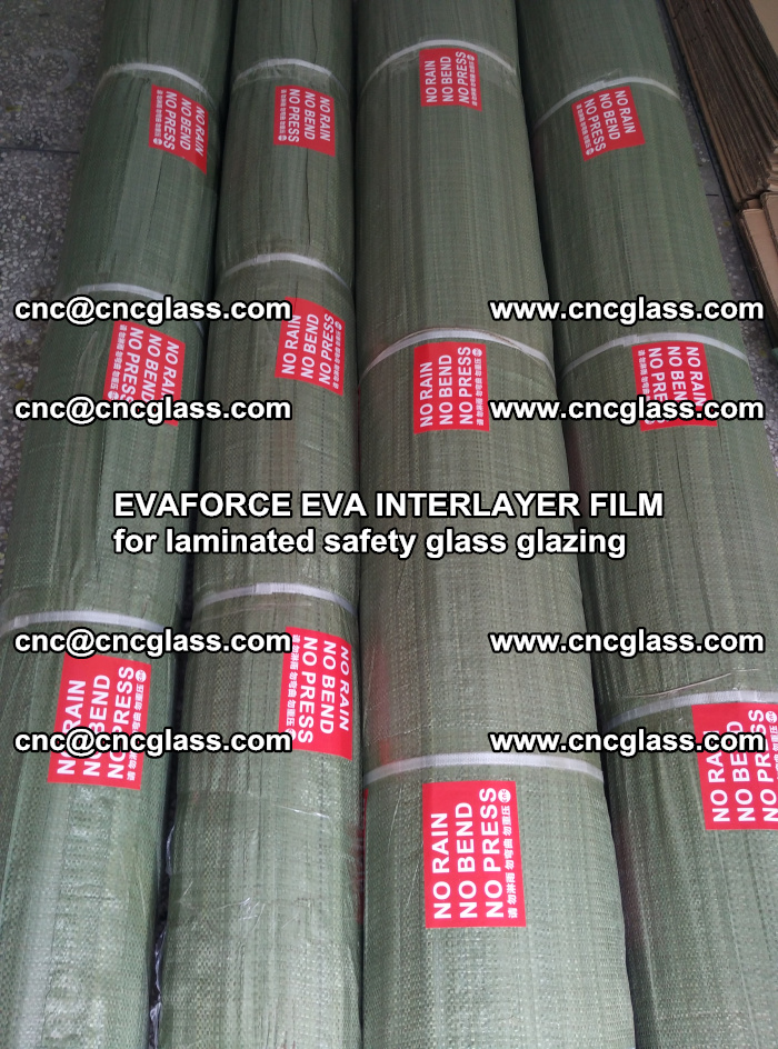 EVAFORCE EVA INTERLAYER FILM for laminated safety glass glazing (38)