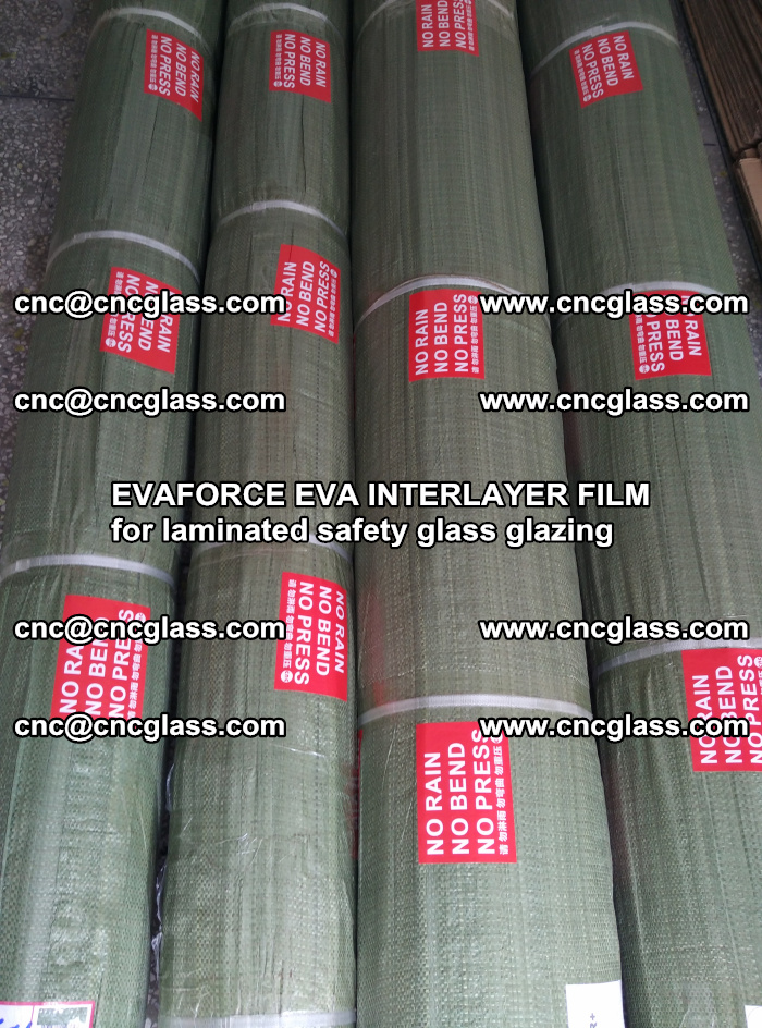 EVAFORCE EVA INTERLAYER FILM for laminated safety glass glazing (40)