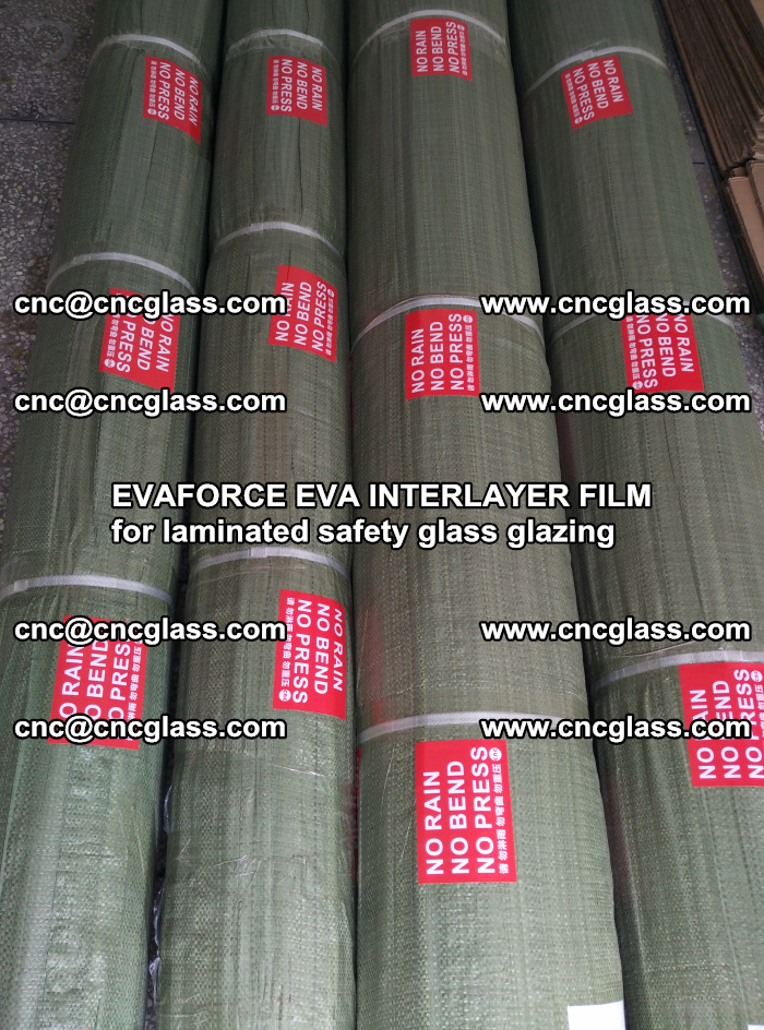 EVAFORCE EVA INTERLAYER FILM for laminated safety glass glazing (41)