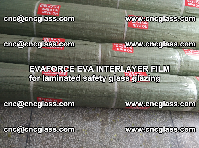 EVAFORCE EVA INTERLAYER FILM for laminated safety glass glazing (46)