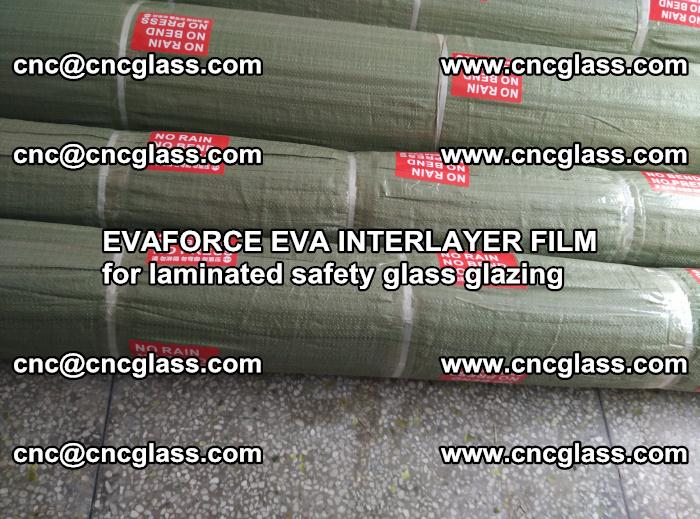 EVAFORCE EVA INTERLAYER FILM for laminated safety glass glazing (46)