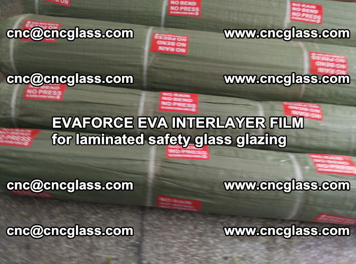 EVAFORCE EVA INTERLAYER FILM for laminated safety glass glazing (48)